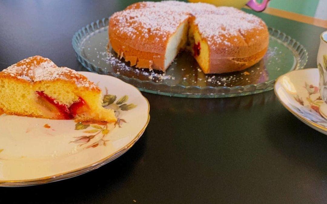 Torta di prugne e cannella